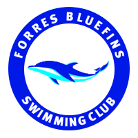 Forres Bluefins Swimming Club logo